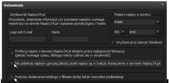 Napisy24.pl - program do pobierania napisów