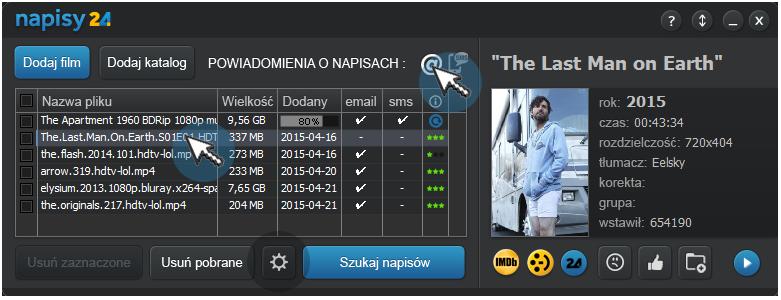 Napisy24.pl program do pobierania napisów do filmów i seriali